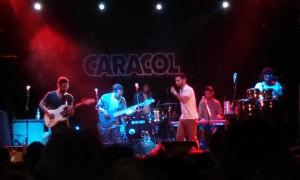 Concierto del 3 de octubre en Madrid del grupo cordobés Los Aslandticos