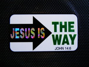 Jesus ir the way