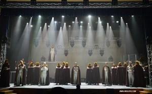 Escena de 33 el musical de Toño Casado
